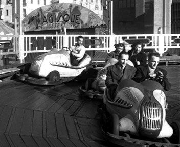 Le giostre antiche nella Milano degli anni '50