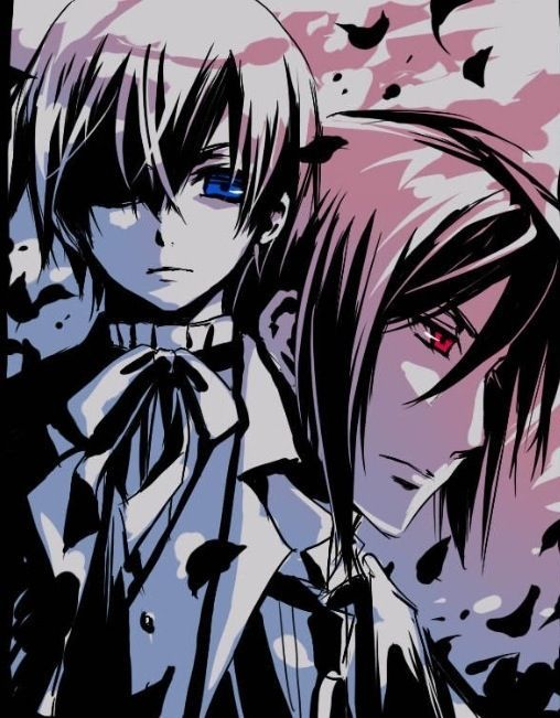Ciel and Sebastian -black butler