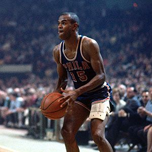 What move was #sixers player Hal Greer's trademark? from #1 #NBA Quiz App www.nbabasketballquizgame.com