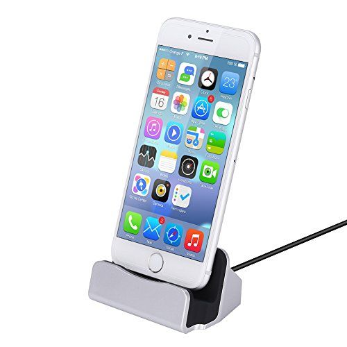 GHB Docking Station Dock f�r Iphone Lightning Dock mit USB-Kabel f�r iPhone 7/7 Plus/6/6S /6 Plus/5/5S/5C