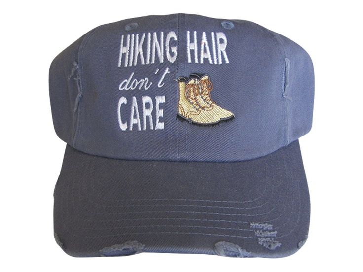 Hiking Hair Don't Care Cap