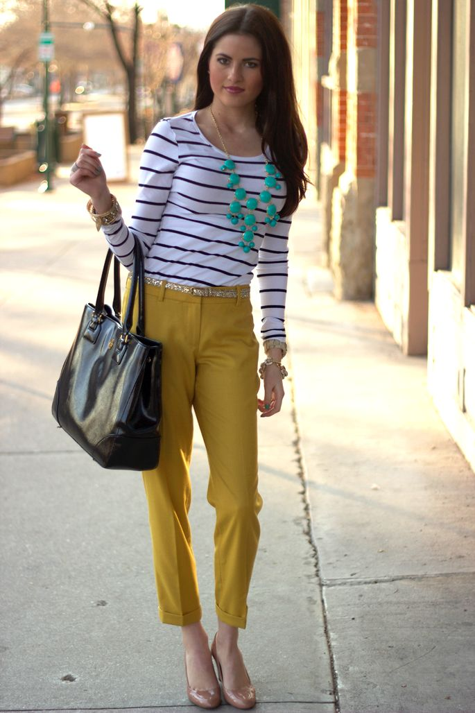 Mustard yellow pants | My Style | Pinterest