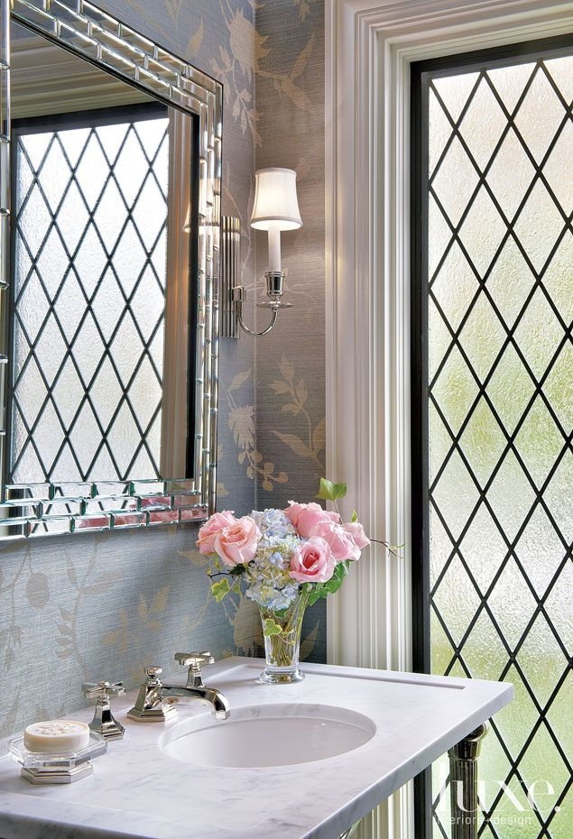 144 Best Images About Beautiful Powder Rooms On Pinterest