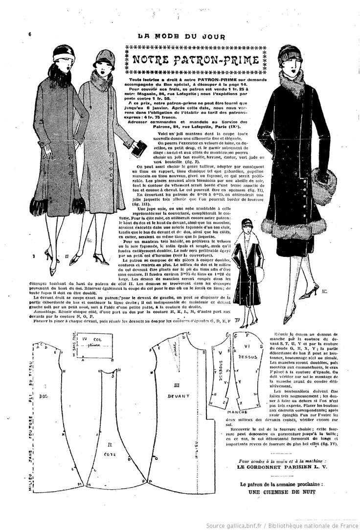 La Mode du jour. [1925/12/31