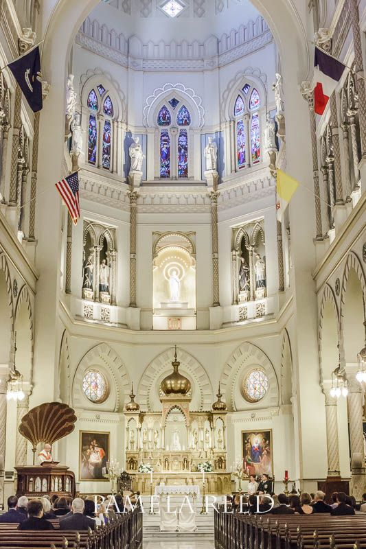 Immaculate Conception Jesuit Church on Broad Street in New Orleans | Wedding Venues | New Orleans Weddings | Wedding Photography | Pamela Reed Photography | Artsy Photographer Contact pam@artsyphotographer.com for your event and wedding photography.