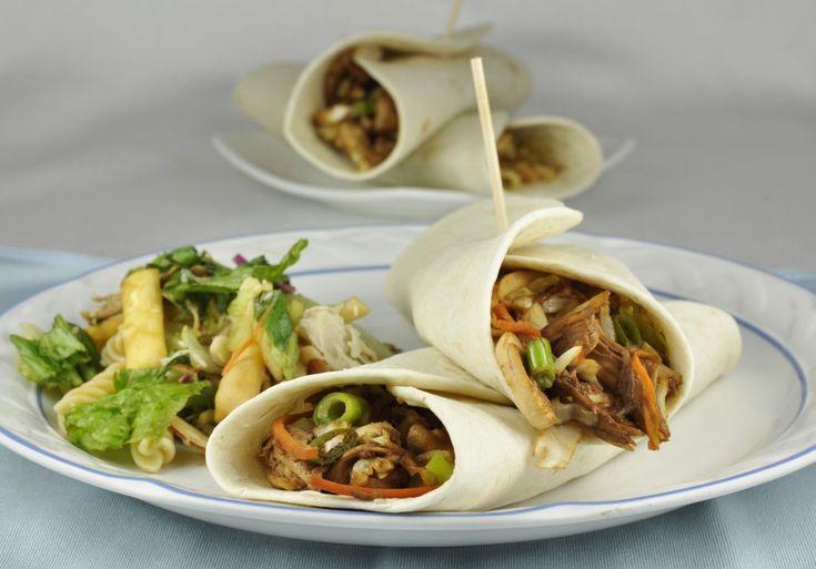 Asian Chicken Wraps –