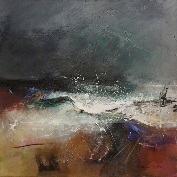 Stormy Sea : Patricia Sadler http://www.patriciasadler.co.uk/seascapes.php