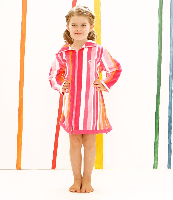 Terry Rich Kids Beach Robe