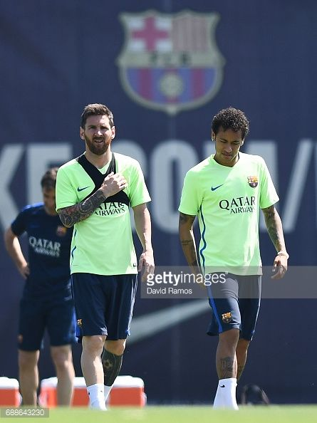 FC Barcelona - Training & Press Conference