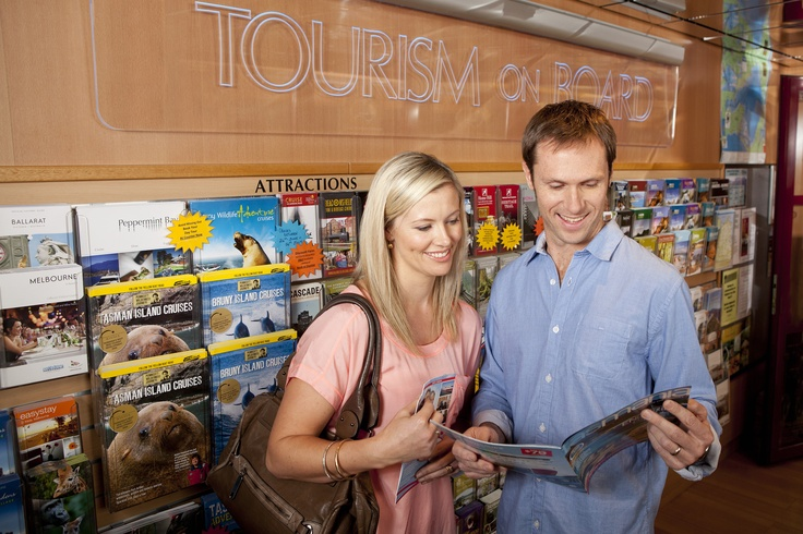 Haven't quite worked out your itinerary? Find out where to go and what to do in Tasmania at the on board tourism information centre.