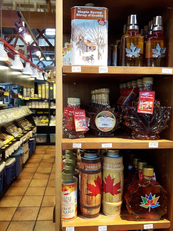 Maple syrup.  One of the staples in Canada.