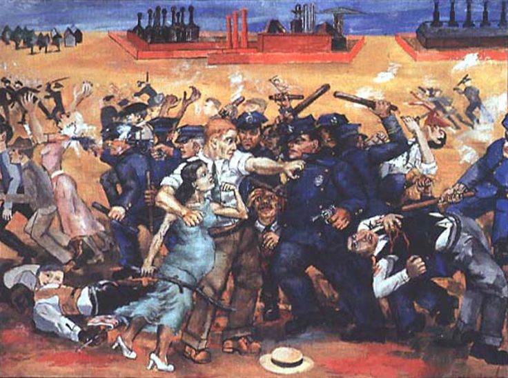 Philip Evergood  American Tragedy  1937