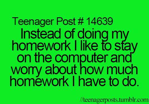 pretty much my school life XD