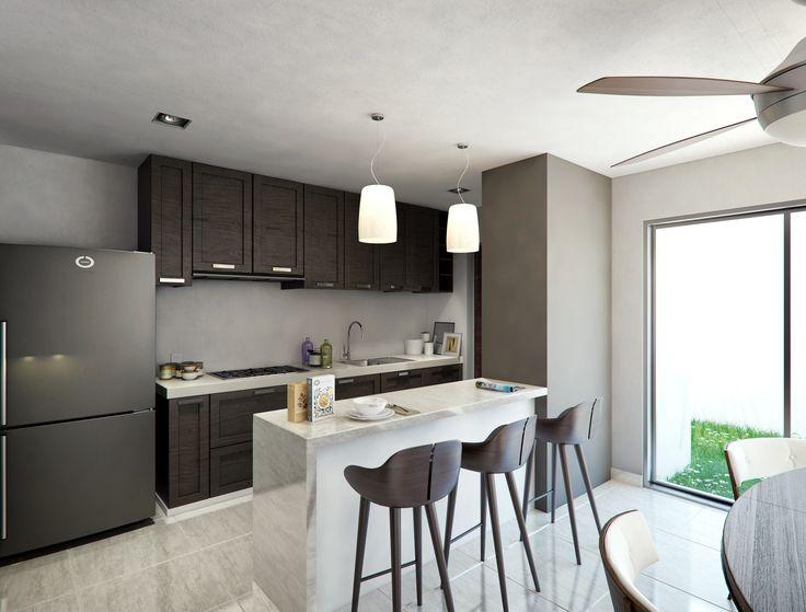 Render Interior Cocinas - EVA3D