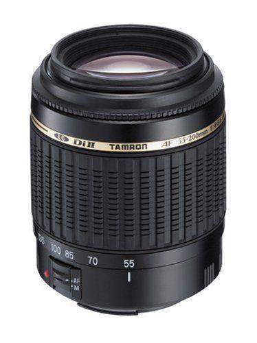 NIKON - Tamron AF 55-200mm F/4.0-5.6 Di-II LD Macro Lens for Nikon Digital SLR Cameras