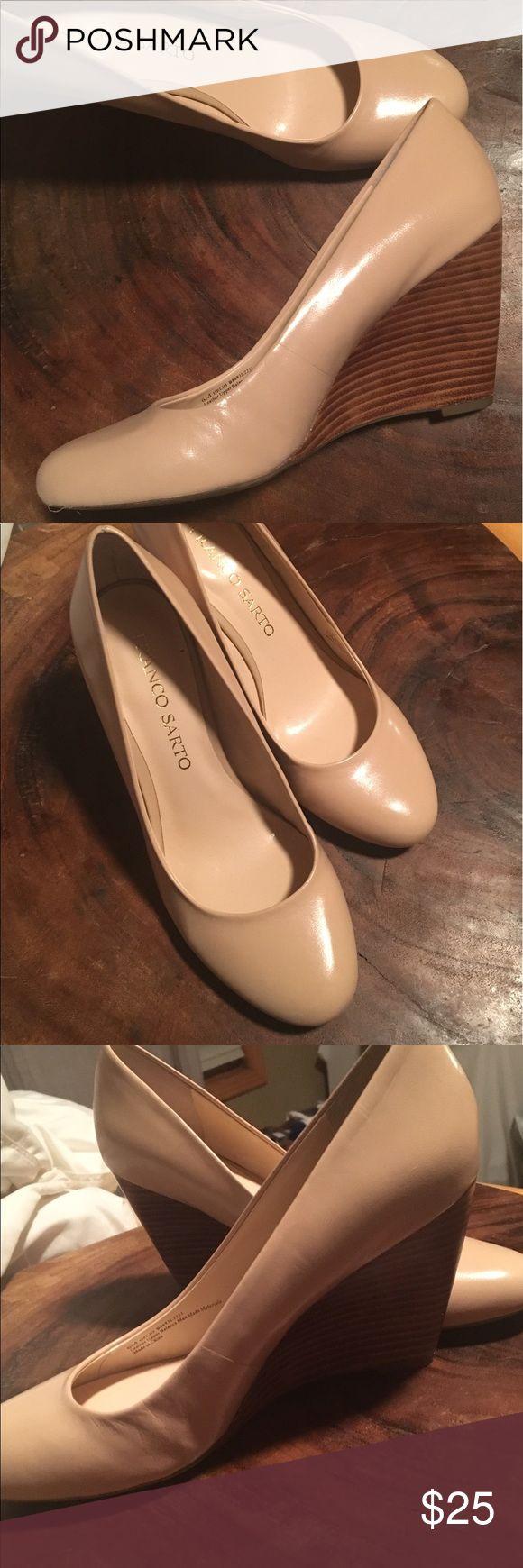 Franco Sarto nude Wedges Nude Franco Sarto Wedges Franco Sarto Shoes Wedges
