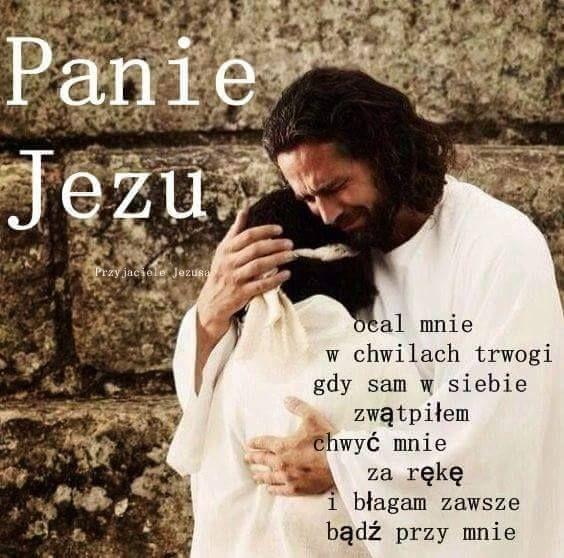 Panie Jezu ocal mnie...