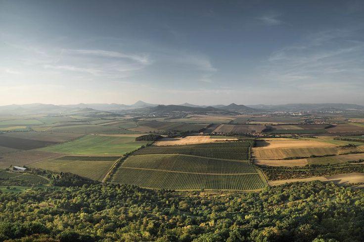 Oh my. Bohemian Uplands.  #sonyalpha #sonya7ii #sonyimages #panorama #czechlandscape #bohemianuplands #hazmburk #whataview #igerscz #landscape