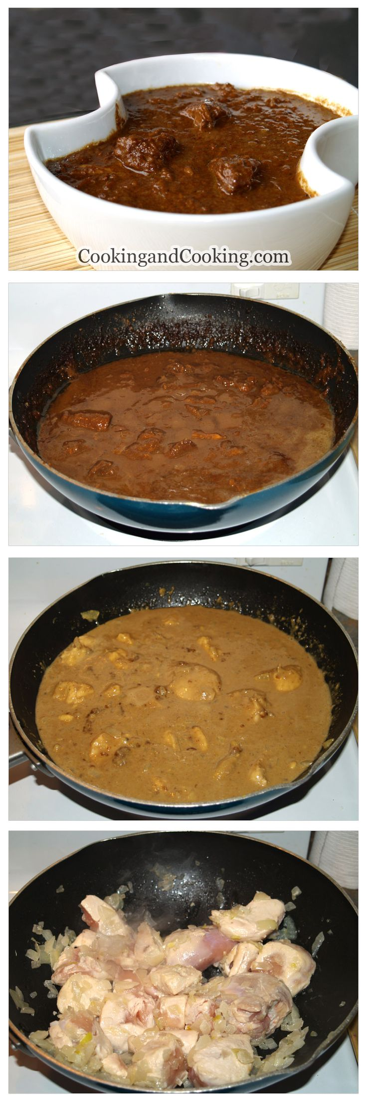 Persian Pomegranate Walnut Stew Recipe- very delicious! I puree the walnut mixture before adding to the chicken.