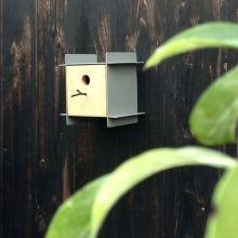 Vogelhuis Grijs