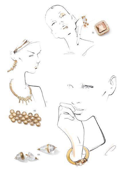 By yohanna design jewelry wholesale - Swarovski® Elements Fashion Trends: Fall/Winter 2014/2015-7