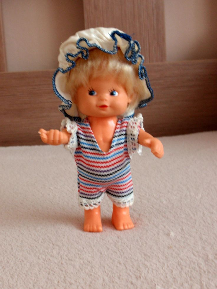 Bábika z NDR - 80 roky