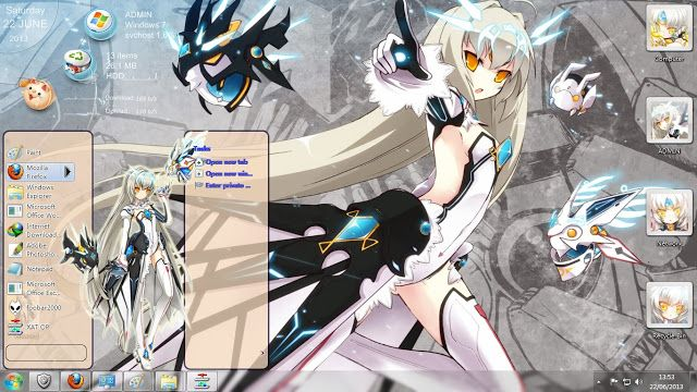 Theme Windows Elsword - Eve Ver