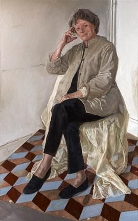 Maggie Smith portrait added to the National Portrait Gallery collection