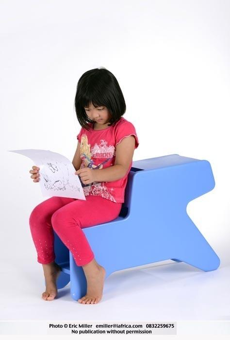 Kiddies furniture, desk/seat/storage - Tsai Design