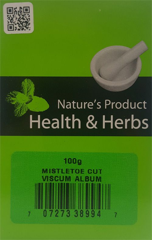 Natures Product  Health & Herbs Mistletoe Cut 100g Viscum Album