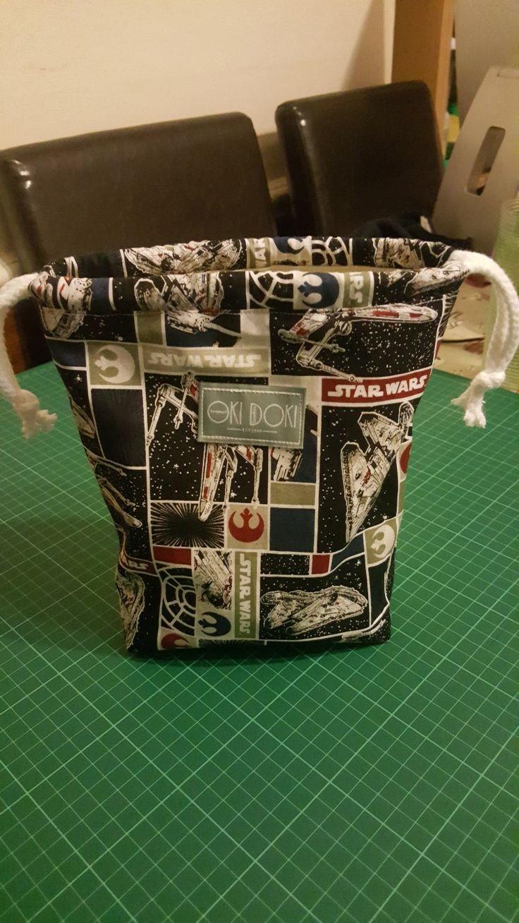 Star Wars drawstring tidy tote