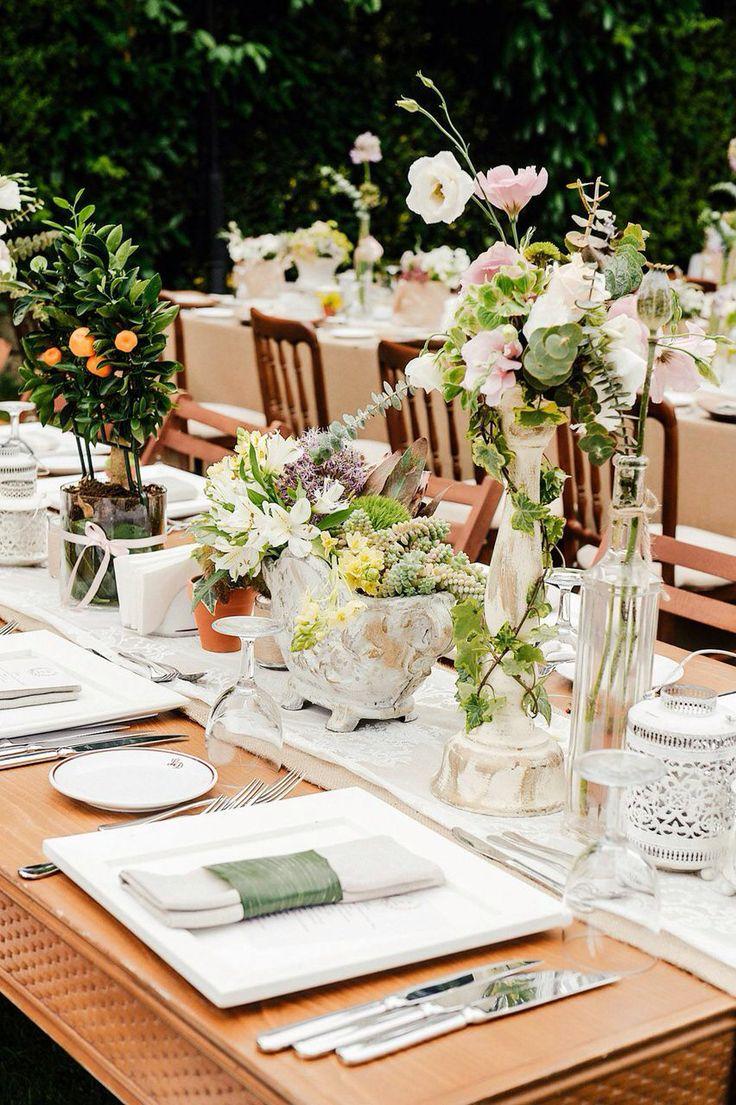 Mandarin table decor