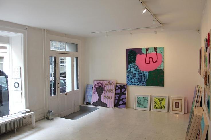 Showroom Rasmus Olsen at Oehlenschlägersgade 34, Vesterbro, Copenhagen.