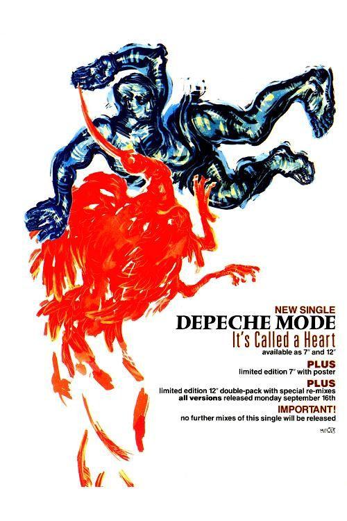 DEPECHE MODE retro poster by JustMemorabilia