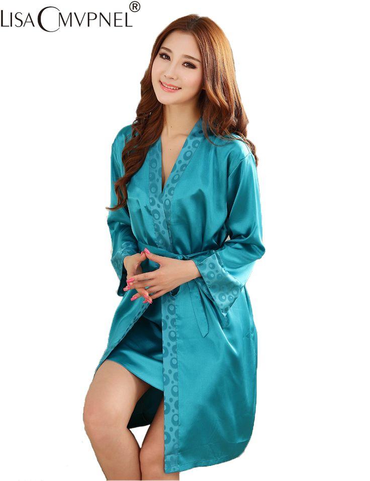 Lisacmvpnel 2016 caliente a la venta! 2 unids imitación de seda pijamas de las mujeres estampado de flores conjuntos de traje más el tamaño de las mujeres cardigans