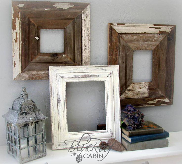 Las mejores 60 imágenes de Picture frames! Shabby chic en Pinterest ...