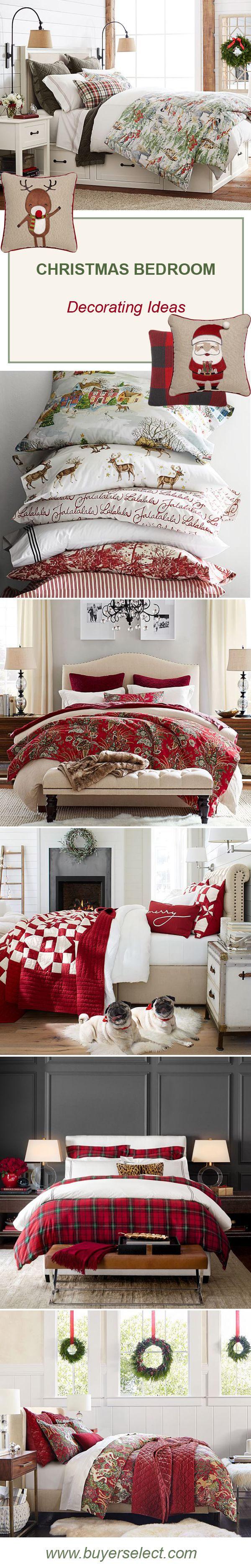 Christmas Bedroom Decorating Ideas & Decor