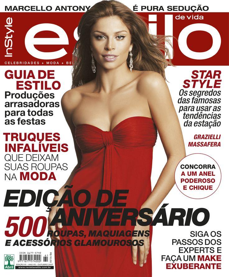 Edição 61 - Outubro de 2007 - Grazielli Massafera