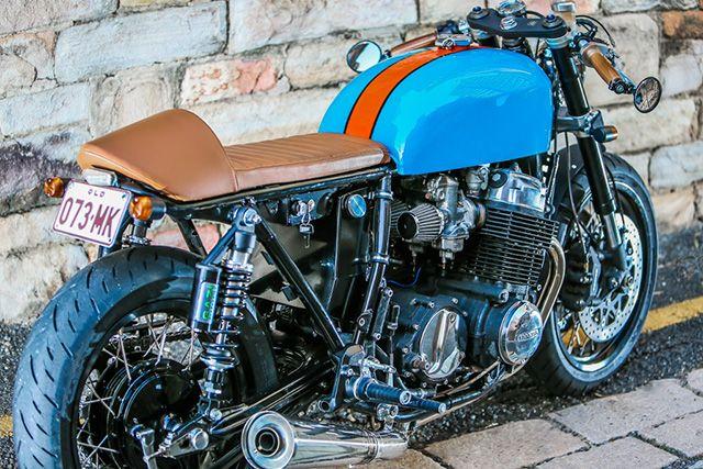 '72 Honda CB750 – Rocker Classic Motorcycles  |  Pipeburn.com