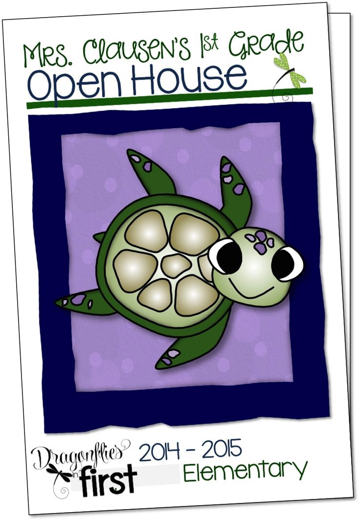 Open House - Dragonflies in First - Traci Clausen - Open House Brochure
