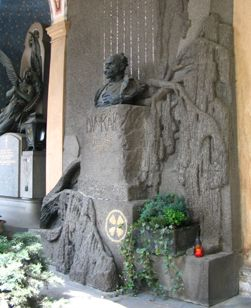 Dvorak's tomb  http://en.wikipedia.org/wiki/Vy%C5%A1ehrad_cemetery