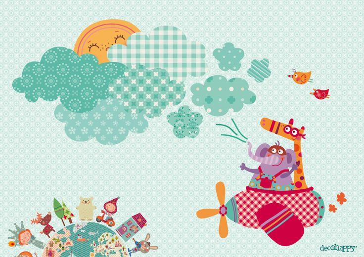 33 best dibujos descargables gratis images on pinterest - Dibujos de casas para imprimir ...