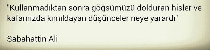 Sabahattin Ali: