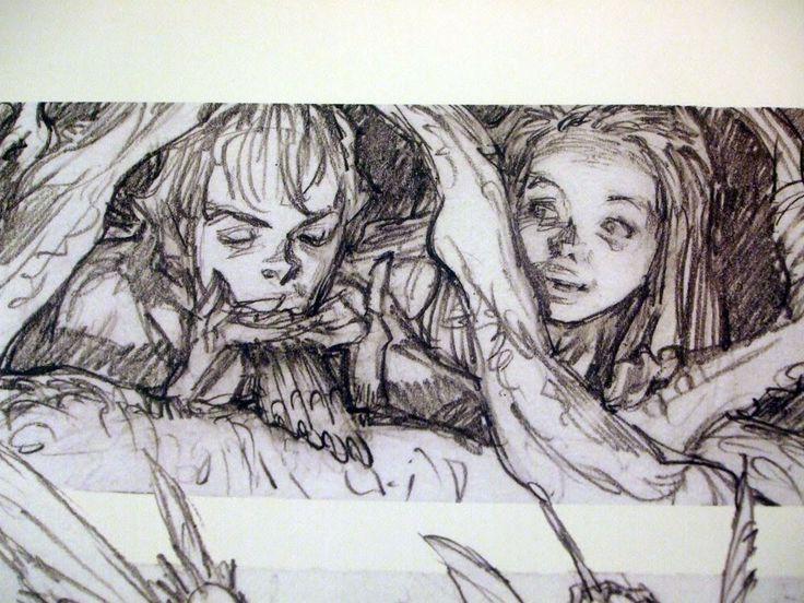 81 best iain mccaig images on pinterest character design for Random sketch ideas