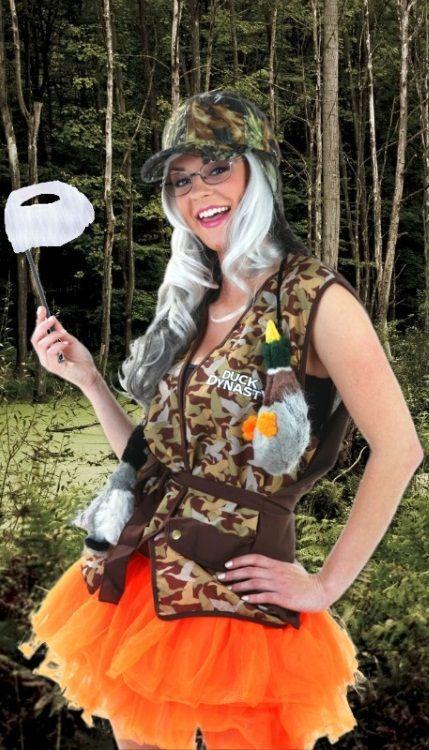 sexy duck dynasty Halloween DIY costume idea