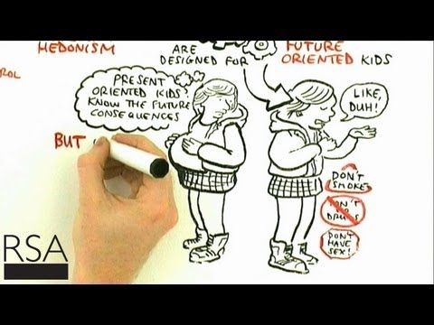 Excellent RSA Animate on how perception of time affects learning and culture