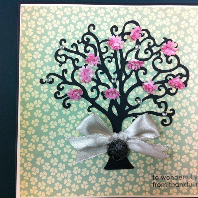 6x6 Thank You Card