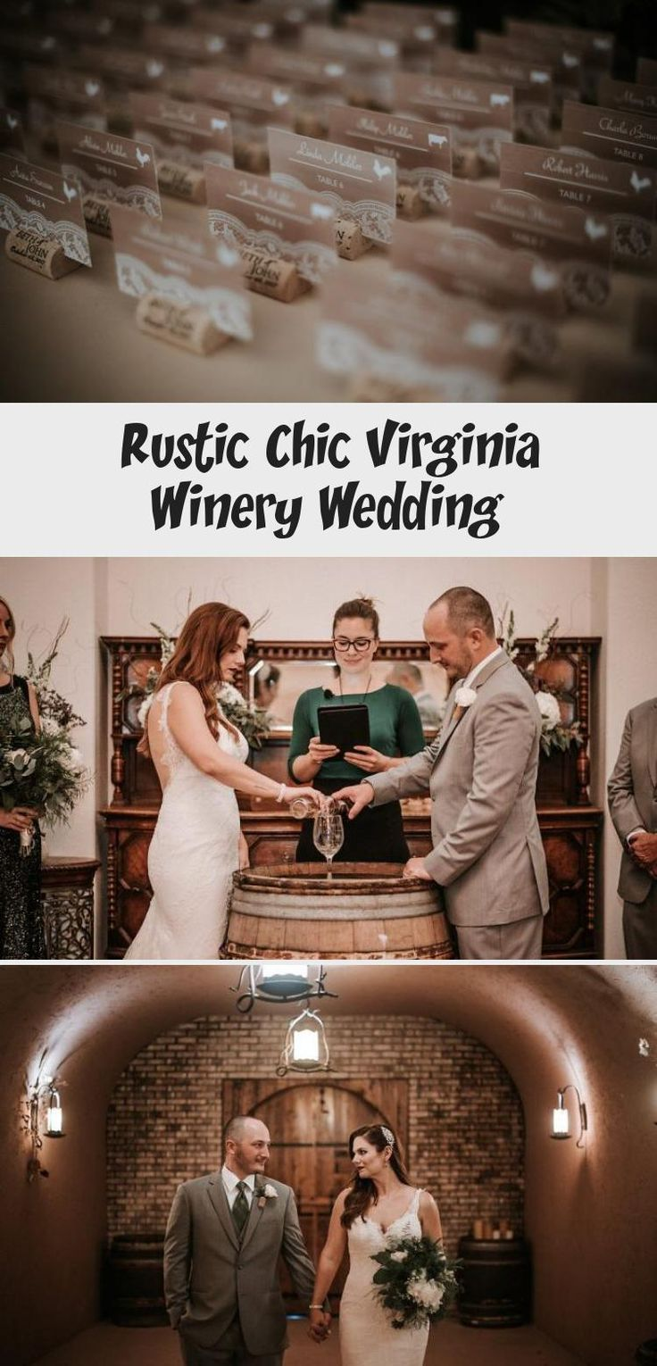 Rustic Chic Virginia Winery Wedding - United With Love ...