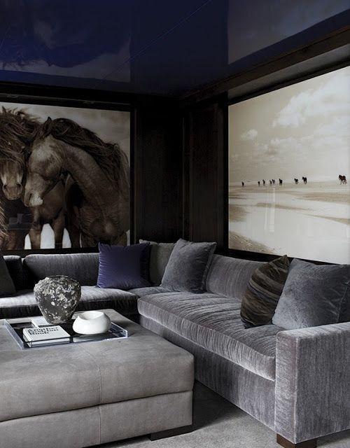 Дизайн интерьера дома - все отенки серого в интерьере, США ~ Дизайн красивых интерьеров и вещей