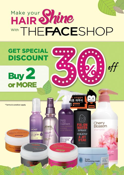 2015 June design for THEFACESHOP Indonesia. @LovelyDay Story